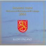 Finlande 2001 - Coffret euro BU