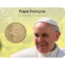 Coincard Pape François - Les papes au Vatican