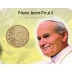 Coincard Jean Paul II - Les papes au Vatican