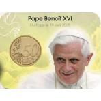 Coincard Benoit XVI - Les papes au Vatican