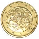 Italie 2008 - 2 euro commémorative dorée à l'or fin 24 carats
