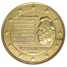 Luxembourg 2013 - 2 euro commémorative dorée à l'or fin 24 carats