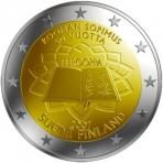 Finlande 2007 Traité de Rome - 2 euro commémorative