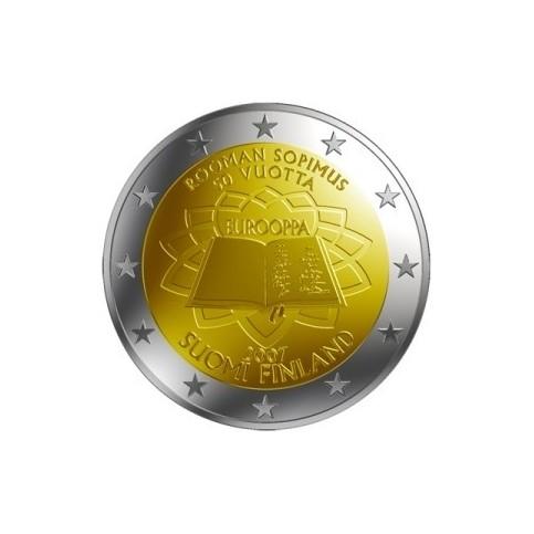 FINLANDE TRAITE DE ROME - 2 EUROS COMMEMORATIVE
