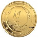 Finlande 2014 - 2 euro commémorative dorée à l'or fin 24 carats