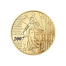 France 10 Cents  2007