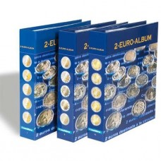 Album Numismatique NUMIS pour pièces commémoratives de 2 Euros francais et anglais - Tome 4