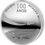 "Portugal 2014 - 2.5 euro ""100 Ans de l'Aviation Militaire"""