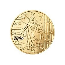 France 10 Cents  2006