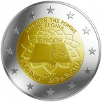 Grèce 2007 Traité de Rome - 2 euro commémorative