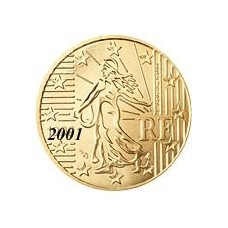 France 10 Cents  2001