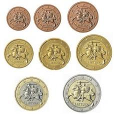 Lituanie 2015 - Série complète euro neuve