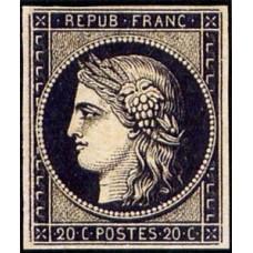 Timbre de France N°3 Neuf