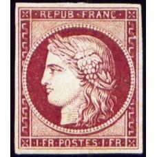 Timbre de France N°6 Neuf