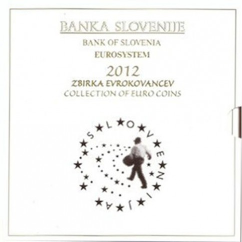 Slovénie 2012 - Coffret euro BU