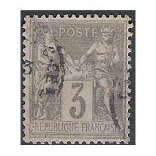 Timbre de France N°87 Oblitéré