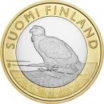 """Finlande 2014 - 5 euro """"L'aigle pêcheur"""""""