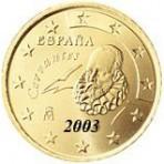 Espagne 10 Cents  2003