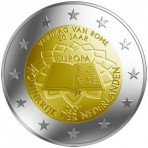 Pays-Bas 2007 Traité de Rome - 2 euro commémorative