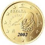 Espagne 10 Cents  2002
