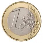Collection de 20 pièces de 1 euro domées en couleur