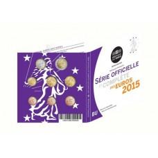France 2015 - Coffret euro BU