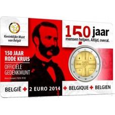Belgique 2014 - 2 euro commémorative Croix Rouge