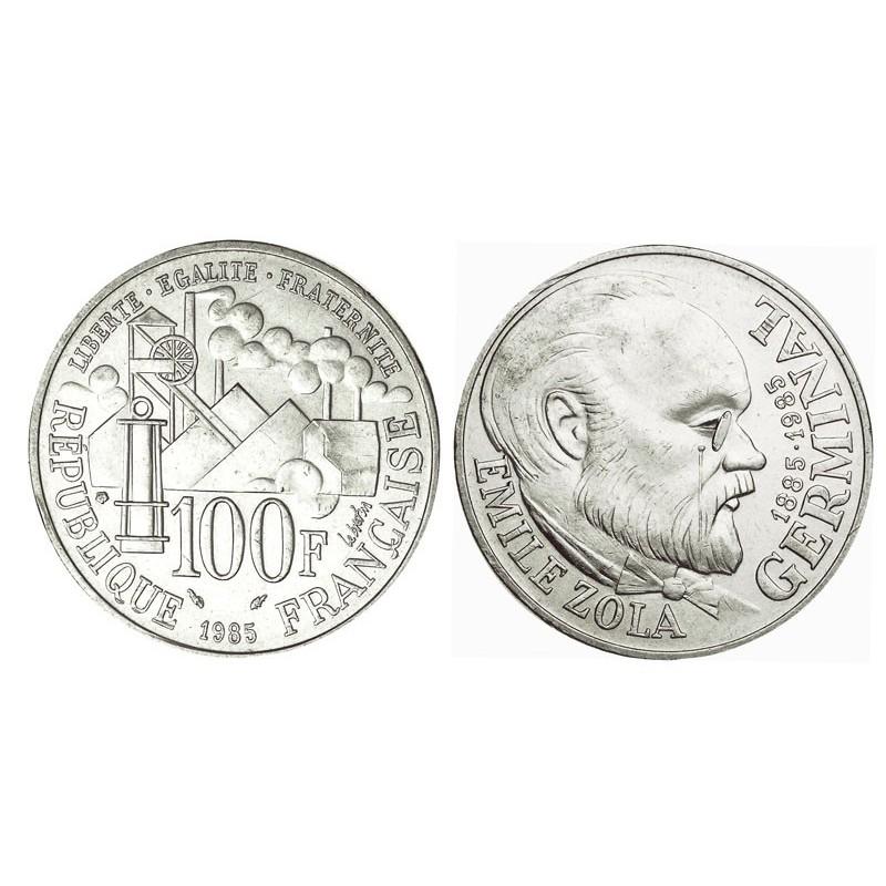 Serie Complete 100 Francs Argent 1982 1996
