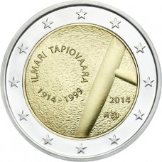Finlande 2014 - 2 euro commémorative Ilmari Tapiovaara