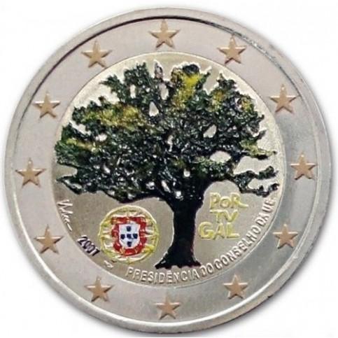 Portugal 2007 - 2 euro commémorative en couleur