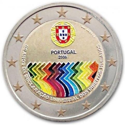 Portugal 2008 - 2 euro commémorative en couleur