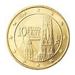 Autriche 10 Cents  2002