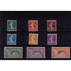 Année complète France 1907-1913
