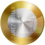 "Slovénie 2014 - 3 euro ""Janez Puhar"""