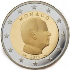 Monaco 2014 - 2 euro