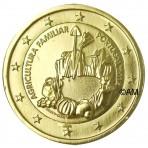 Portugal 2014 - 2 euro commémorative Année de l'Agriculture Familiale dorée à l'or fin 24 carats