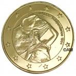 Malte 2014 - 2 euro commémorative anniversaire de l'Indépendance dorée à l'or fin 24 carats