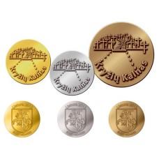 Lituanie 2015 - Lot des 3 médailles commémoratives