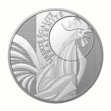Coq 2015 - 10 euro Argent