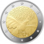 France 2015 - 2 euro commémorative Paix en Europe