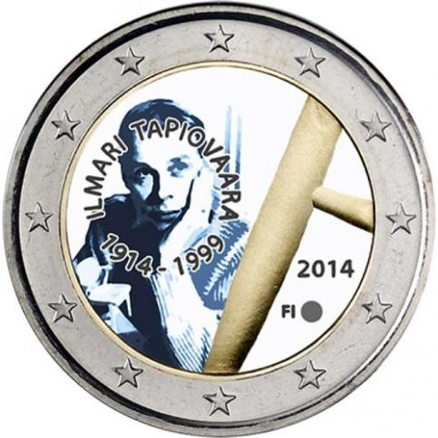 Finlande 2014 - 2 euro commémorative Ilmari Tapiovaara en couleur
