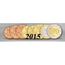 Finlande 2015 - série euro complète neuve