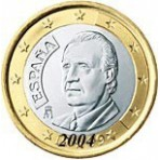Espagne 1 euro 2004