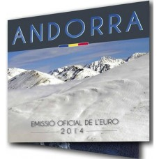 Andorre 2014 - Coffret euro BU