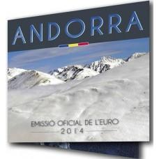 Andorre 2015 - Coffret euro BU