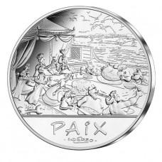 Astérix 2015 - 50 euro Paix Le banquet