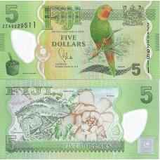 P.5 Fidji - Billet de 5 dollars