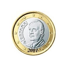 Espagne 1 EURO  2001