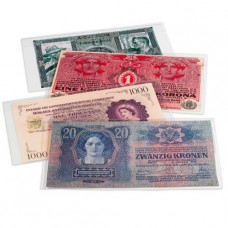 Lot de 10 feuilles pour billets de banque PREMIUM, 160x75 mm