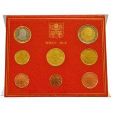 Vatican 2015 - Coffret euro BU